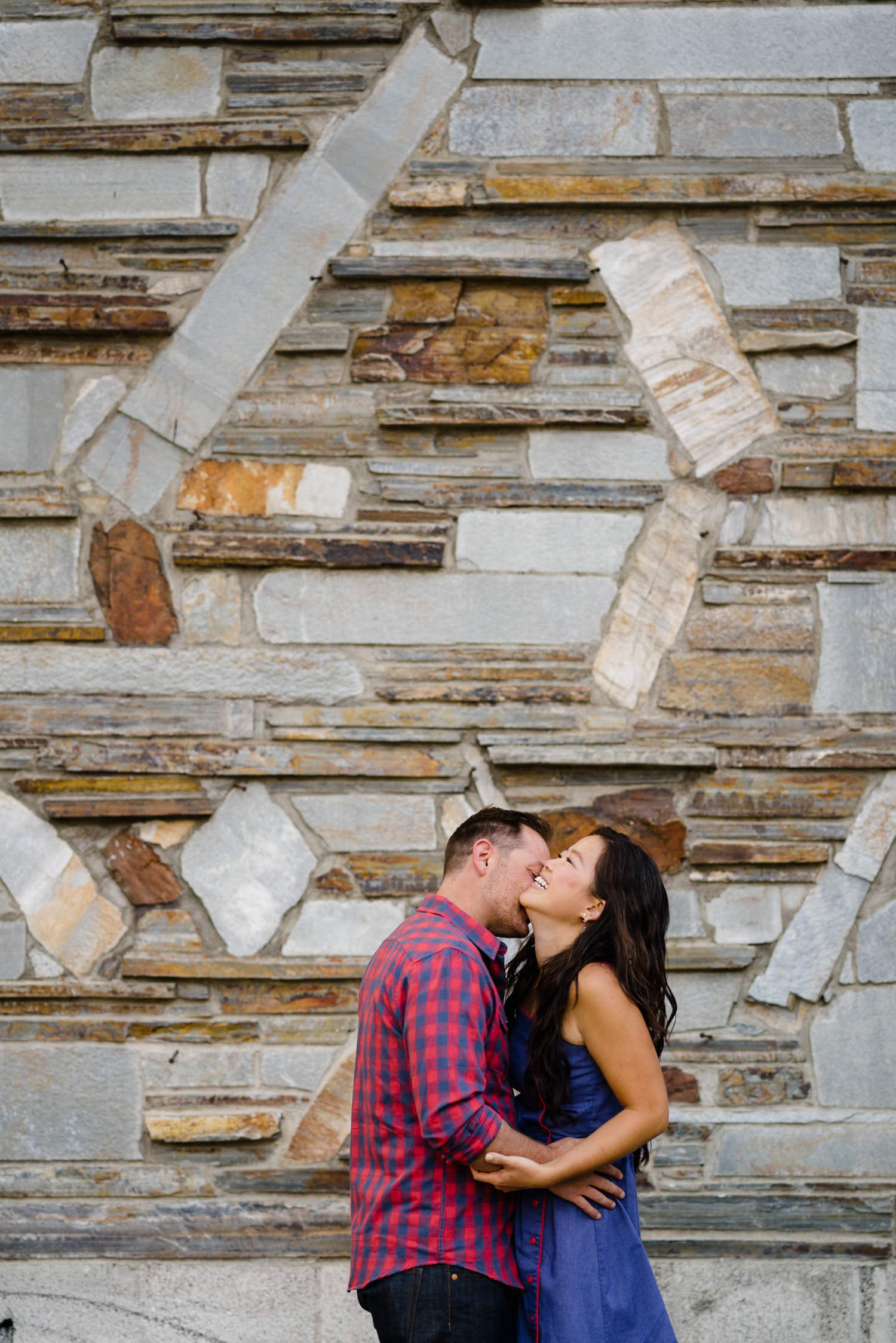 Solitude Mountain Resort Engagement bride-to-be laughing photo