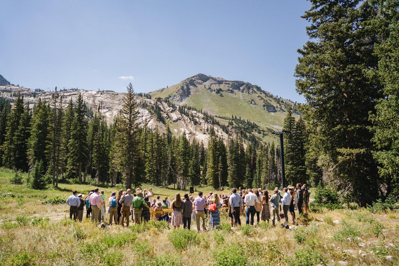 Alta Utah Wedding photo