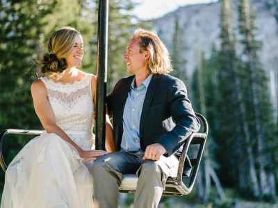 Andrea & Chris | Alta Ski Area Wedding