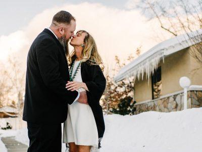 Ashlee & Jason | Intimate Winter Wedding
