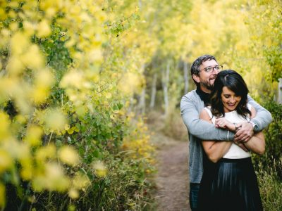 Millcreek Engagement in Autumn