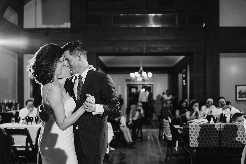 Tuhaye Golf Club Wedding bride and groom dancing photo