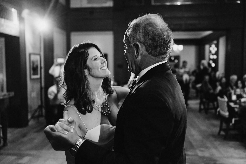 Tuhaye Golf Club Wedding father daughter dance photo