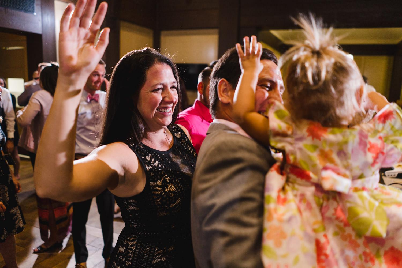 Tuhaye Golf Club Wedding guests dancing photo