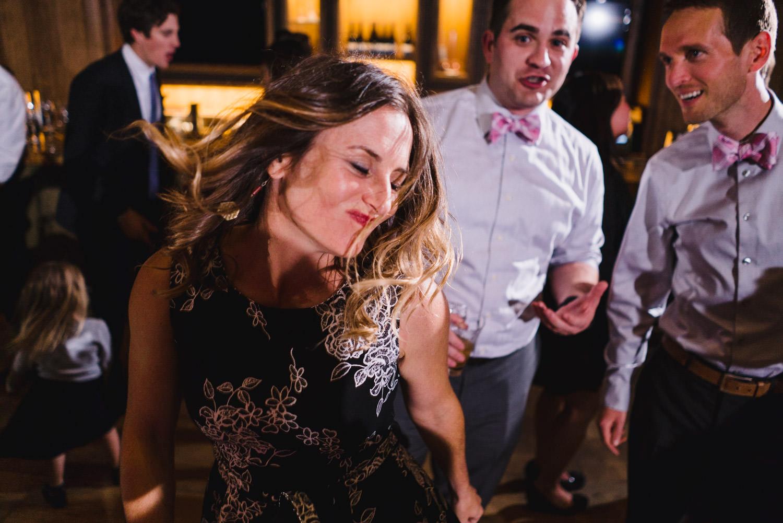 Tuhaye Golf Club Wedding woman dancing photo