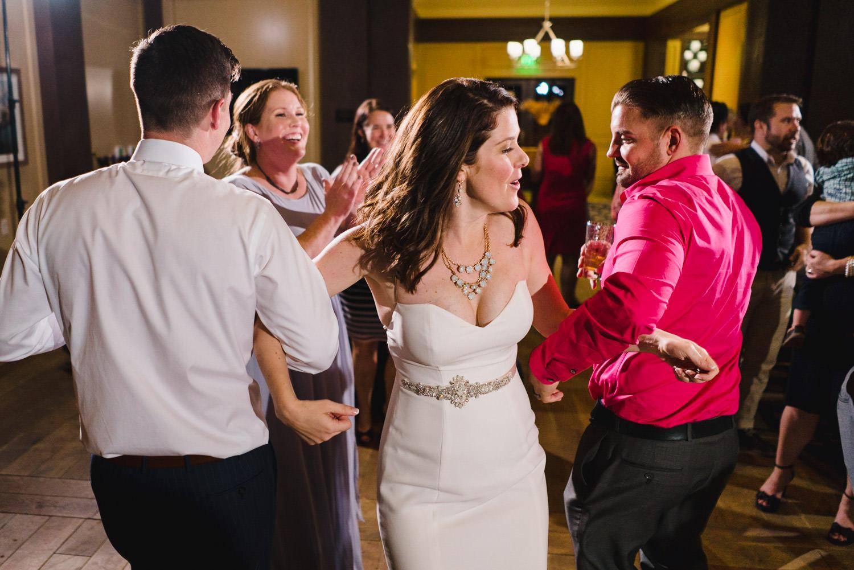 Tuhaye Golf Club Wedding bride dancing photo