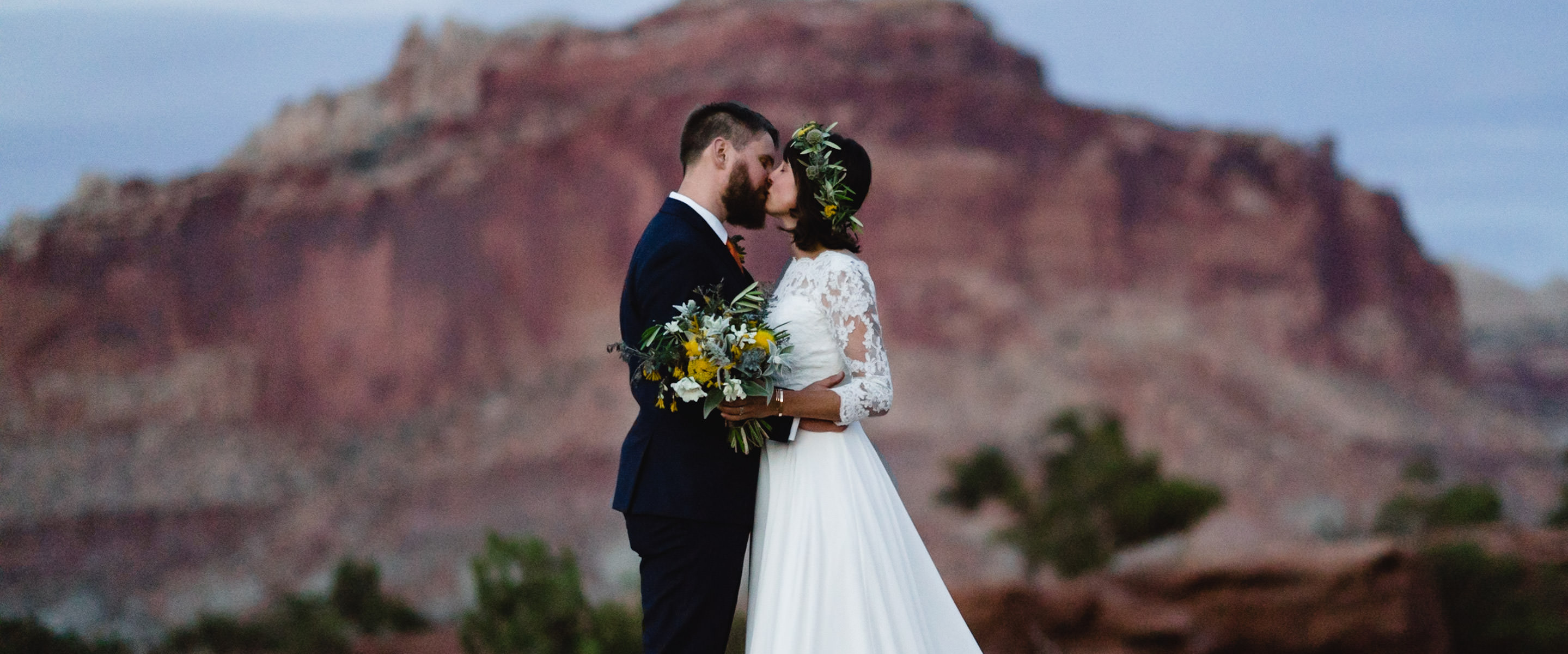 Capitol Reef National Park Wedding photo