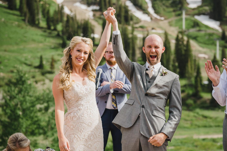 Alta Lodge wedding photo