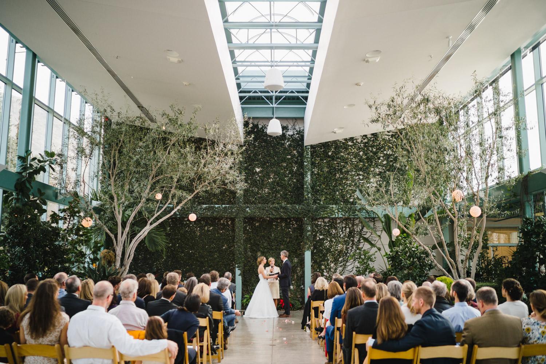 Red Butte Garden wedding photo