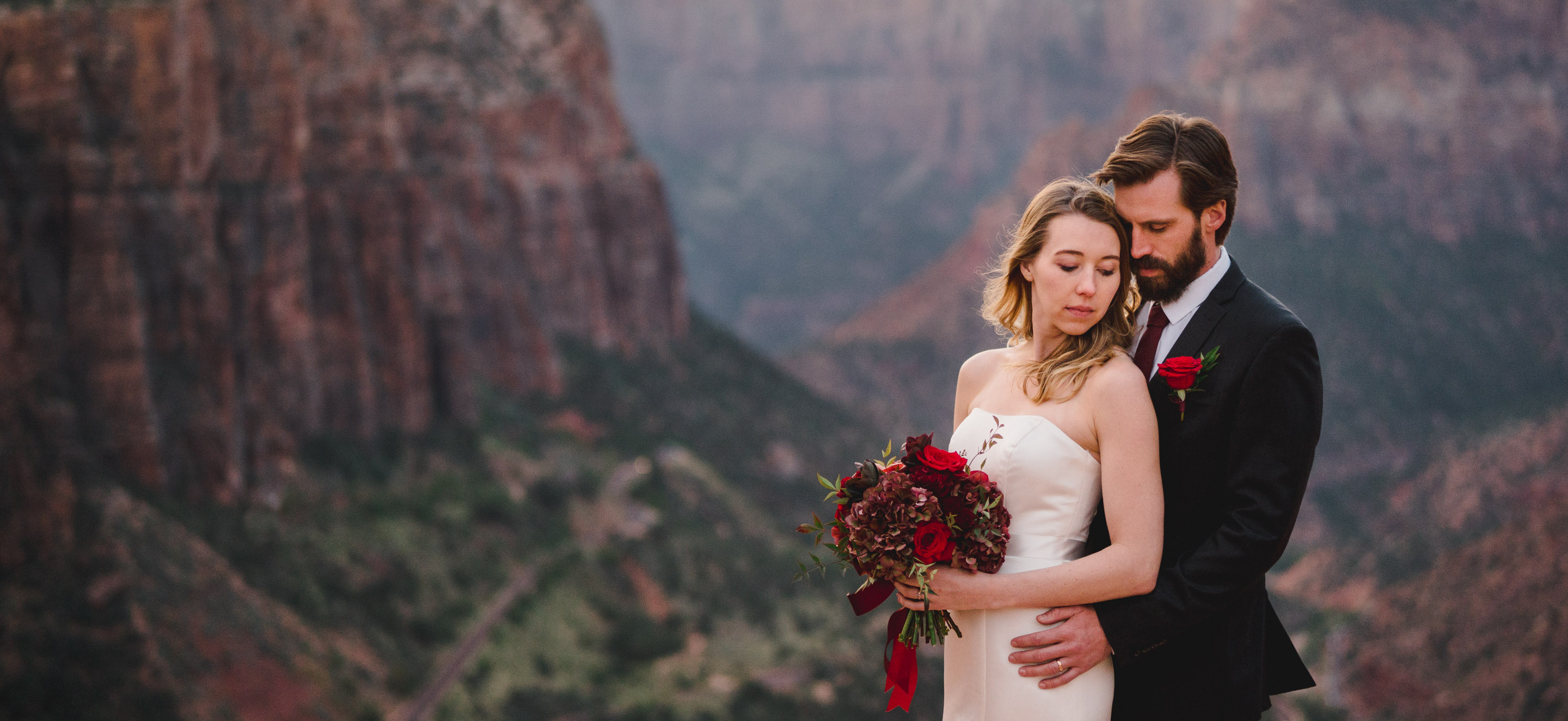 Utah national park elopement