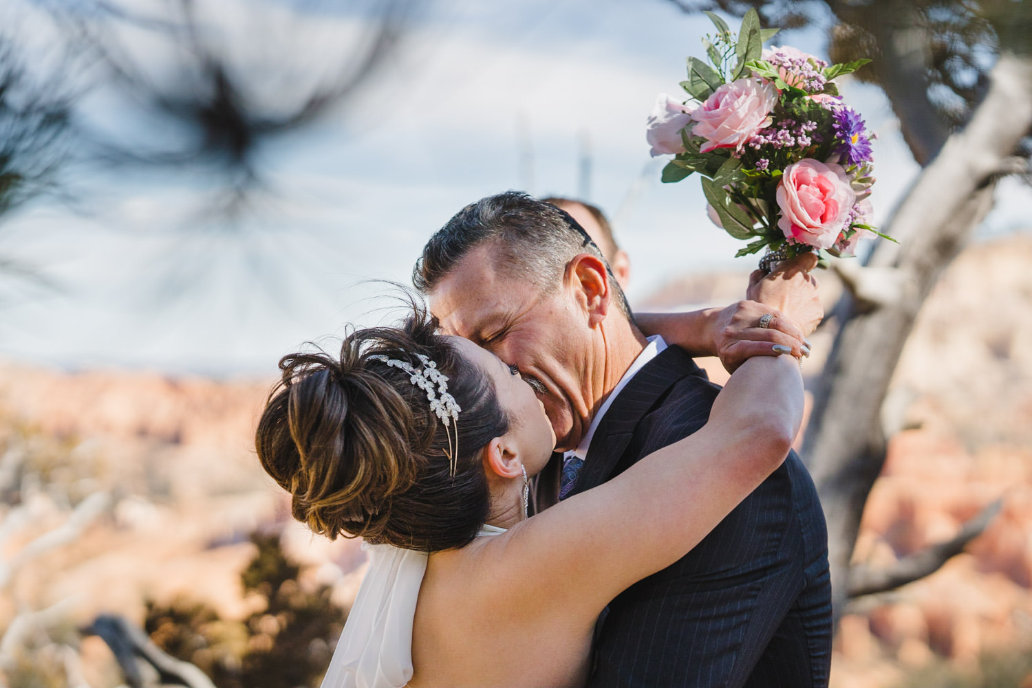Bryce Canyon elopement photo