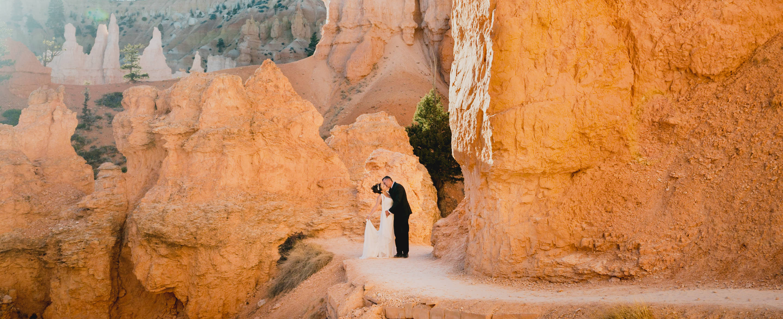 Bryce Canyon elopement photo