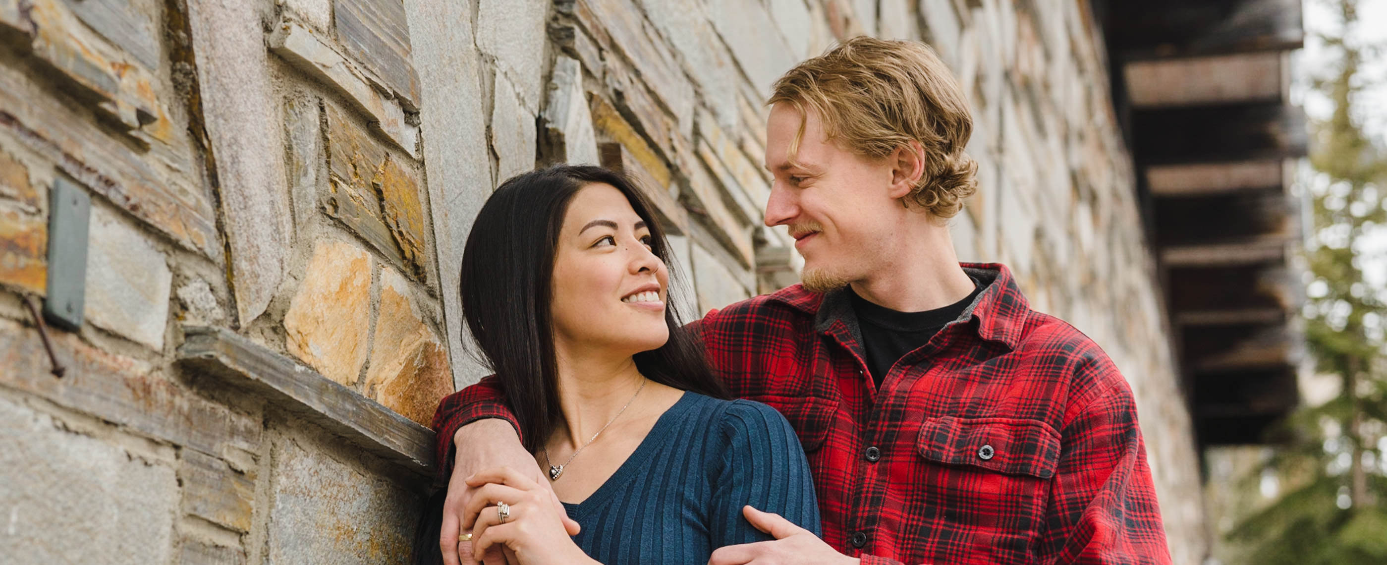 Engagement session at Solitude photo