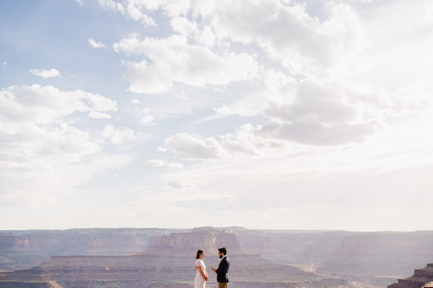 Dead Horse Point Elopement photo