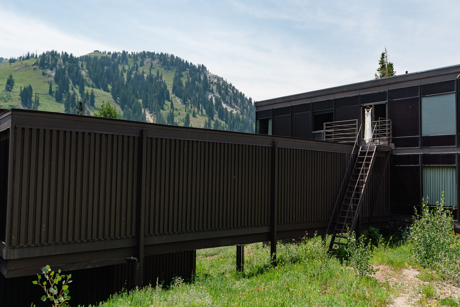 alta lodge side view summer