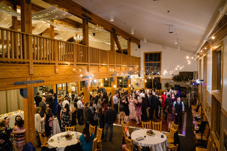 solitude lodge wedding reception guests